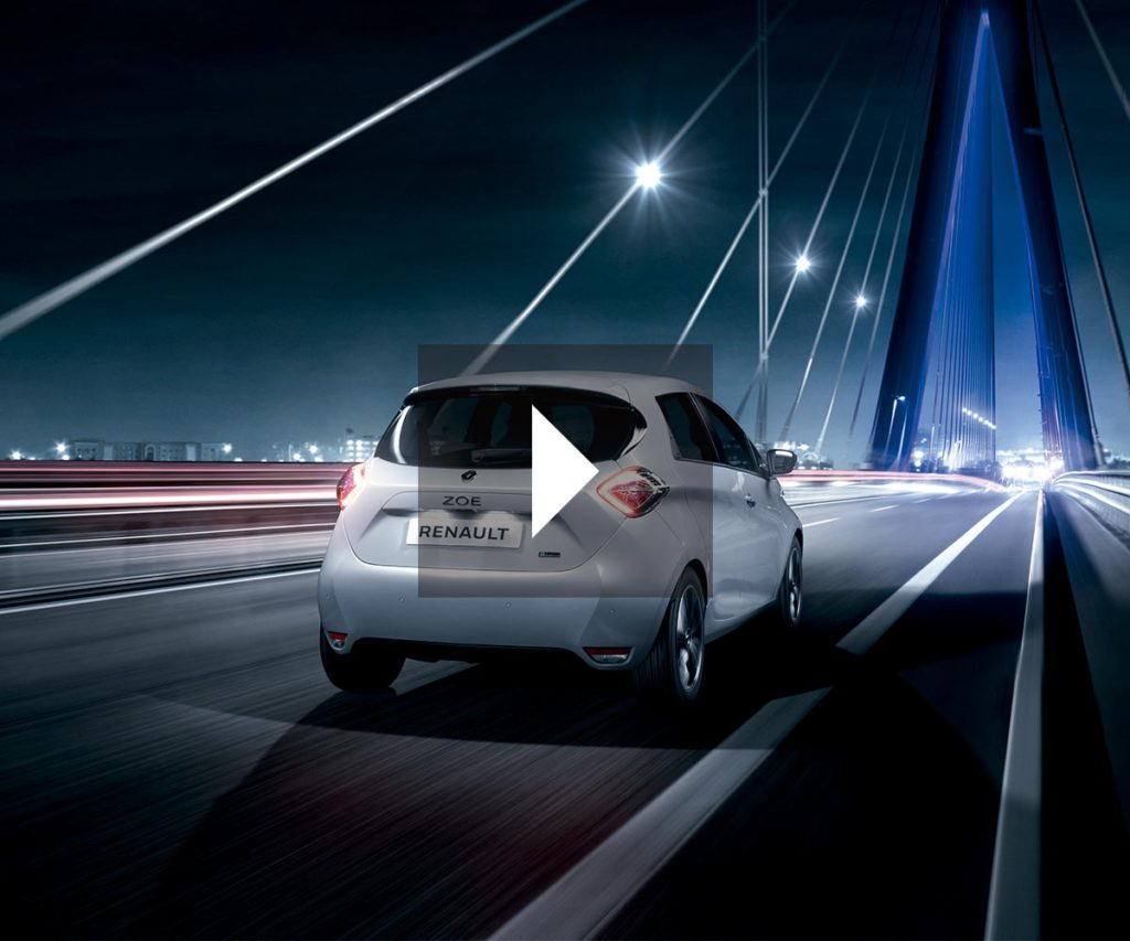 Renault eléctrico ZOE video